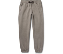 T By Alexander Wang Wide-leg Cotton-blend Jersey Sweatpants
