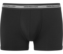 Stretch Modal And Cotton-blend Boxer Briefs