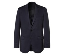 Grey Hayes Slim-Fit Super 120s Virgin Wool Suit Jacket