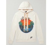 + Paula's Ibiza Printed Loopback Cotton-Jersey Hoodie