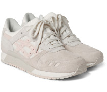 Gel-lyte Iii Leather And Faux Suede Sneakers