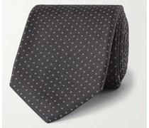 6.5cm Mulberry Silk-Jacquard Tie
