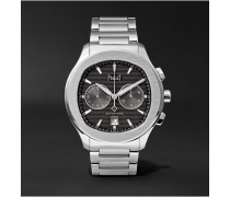 Polo S Automatic Chronograph 42mm Stainless Steel Watch, Ref. No. G0A42005