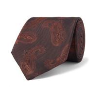 7cm Paisley-Jacquard Silk-Twill Tie