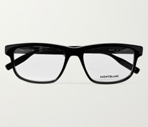 Rectangular-Frame Acetate Optical Glasses