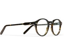 Round-frame Tortoiseshell Acetate Optical Glasses