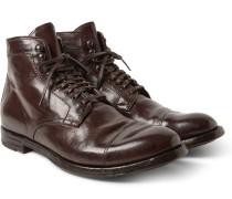 Anatomia Polished-leather Boots