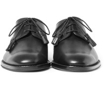 Tasselled Leather Derby Shoes