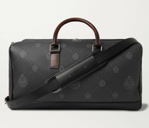 Aventure Signature Canvas and Leather Holdall