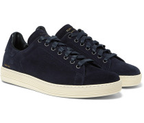 Warwick Perforated Suede Sneakers