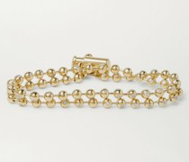 14-Karat Gold Diamond Bracelet