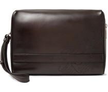 Scritto Leather Wash Bag