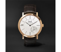 Altiplano Automatic 40mm 18-Karat Rose Gold and Alligator Watch, Ref. No. G0A38131