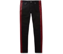 Paint-detailed Denim Jeans