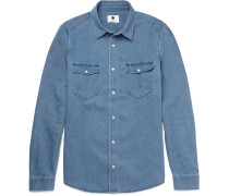Nash Slim-fit Denim Shirt