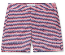 Copacabana Short-Length Printed Swim Shorts