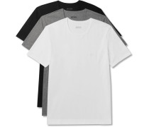 Three-pack Cotton-jersey T-shirts
