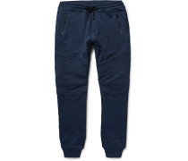 Ashdown Slim-fit Tapered Loopback Cotton-jersey Sweatpants