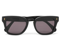 Positano Square-frame Acetate Sunglasses