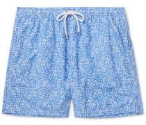 Floral-Print Shell Swim Shorts