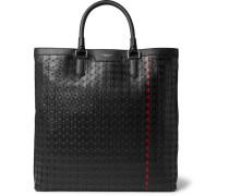 Mosaico Leather Tote Bag