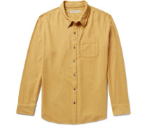 Transitional Brushed Organic Cotton-flannel Shirt