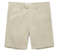 Slim-fit Cotton-twill Chino Shorts