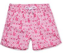 Jardim Botanico Short-length Printed Swim Shorts