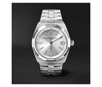 Overseas Automatic 41mm Stainless Steel Watch, Ref. No. 4500V/110A-B126 X45A9727