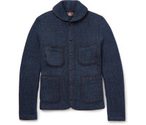 Two-tone Knitted Cotton Jacket