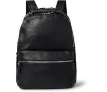 The Runwell Full-grain Leather Backpack