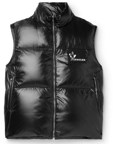 Banker Slim-Fit Quilted Shell Down Gilet