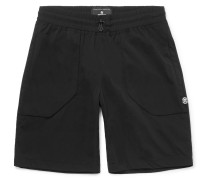 Stretch-shell Drawstring Shorts
