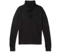 Wool and Cashmere-Blend Mock-Neck Sweater