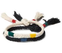 Two-pack Cotton-cord Wrap Bracelets