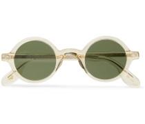 Zolman Round-frame Acetate Sunglasses