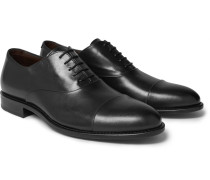 Stockholm Cap-toe Leather Oxford Shoes