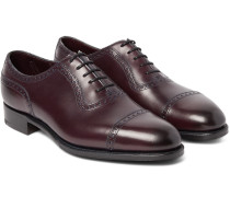 Canterbury Adelaide-cut Leather Oxford Brogues