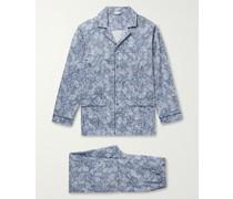 Floral-Print Cotton Pyjama Set