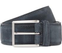 4cm Suede Belt