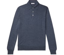 Virgin Wool Polo Shirt
