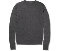 Marcus Crew Neck Merino Wool Sweater