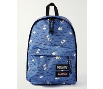 + Peanuts Printed Cotton-Canvas Backpack