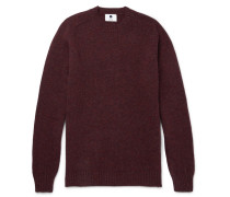 Nathan Mélange Knoll Wool Sweater