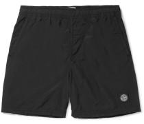 Slim-fit Mid-length Shell Swim Shorts
