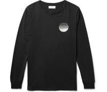 Sunset Printed Cotton-jersey T-shirt