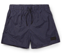 Perry Checked Mid-length Swim Shorts