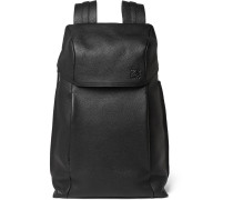 T Full-grain Leather Backpack