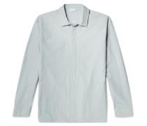 Miglio Washed Cotton-poplin Overshirt