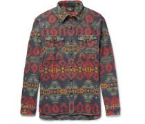 Seattle Patterned Cotton Shirt